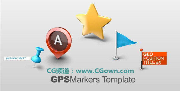 地图 模板/6 Premade Templates High Quality 3D renders Unlimitted...